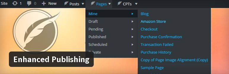 Plugin gratuits - Enhanced Publishing