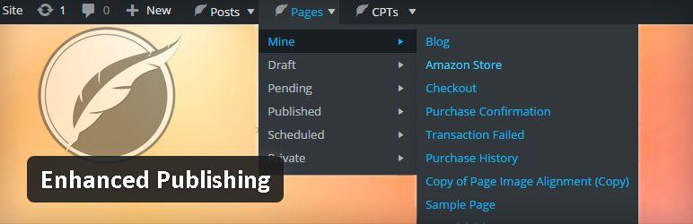 Plugin gratuits - Enhanced Publishing