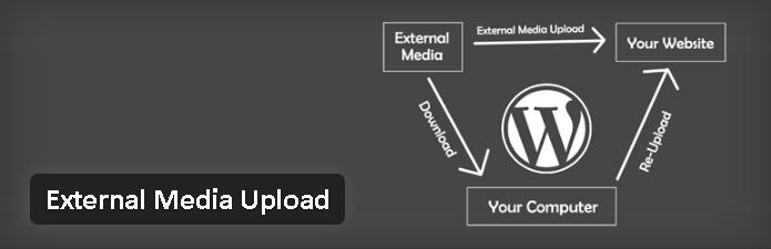 Plugin gratuits - External Media Upload