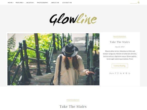 Les plus beaux thèmes gratuits - Glowline