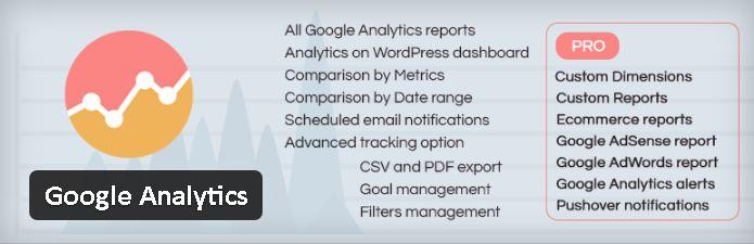 Plugin gratuits - Google Analytics