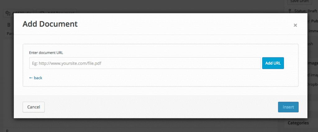Embed Any Document - Insrérer document