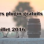 Plugin gratuits – Les meilleurs plugin parus en Juillet 2016