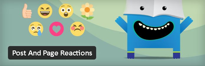 Plugin gratuits - post and Page Reactions