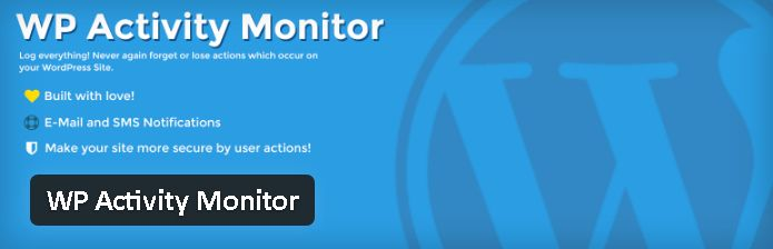 Plugin gratuits - WP Activity Monitor