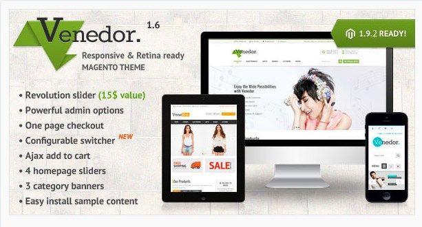 Envato - Les fichiers gratuits du mois - Venedor