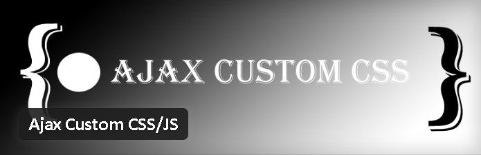 Plugin gratuits - Ajax Custom CSS