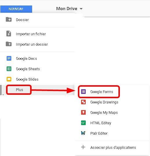 Google Drive - Google Forms