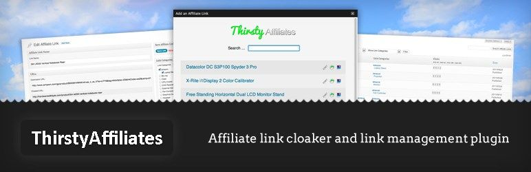 5 plugin pour cacher vos liens d'affiliation - Thirsty Affiliates