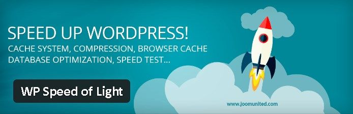 Plugin gratuits - WP Speed of Light