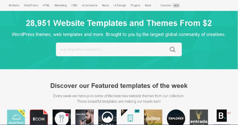 Acheter un thème WordPress