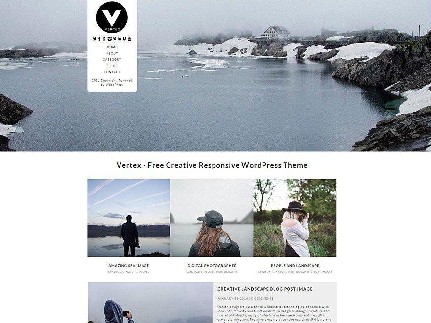 Les plus beaux thèmes gratuits parus en Octobre 2016 - Vertex