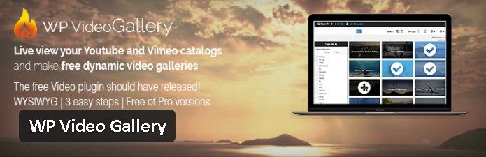 Les plugin gratuits parus - WP Video Gallery