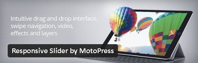 Responsive Slider by MotoPress - meilleurs plugin diaporama pour WordPress