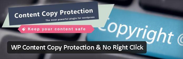 WP Copy Protection - Comment arrêter le vol de contenu