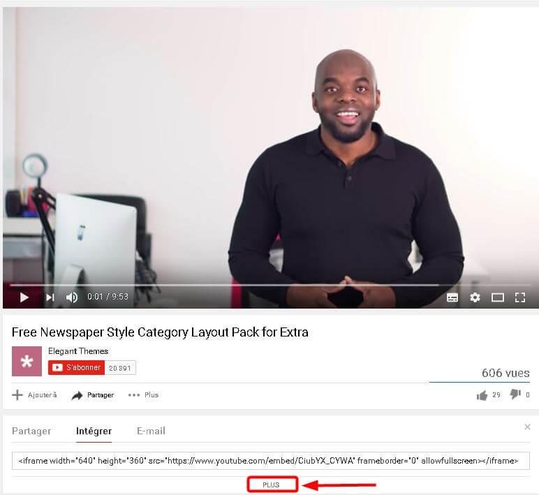 Intégrer des vidéos dans WordPress