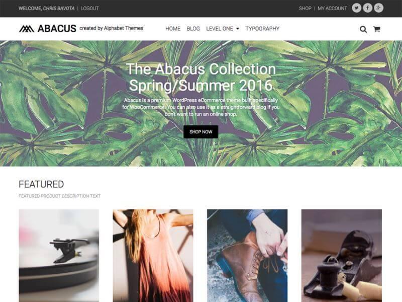 Abacus - Les plus beaux thèmes gratuits parus en Janvier 2017