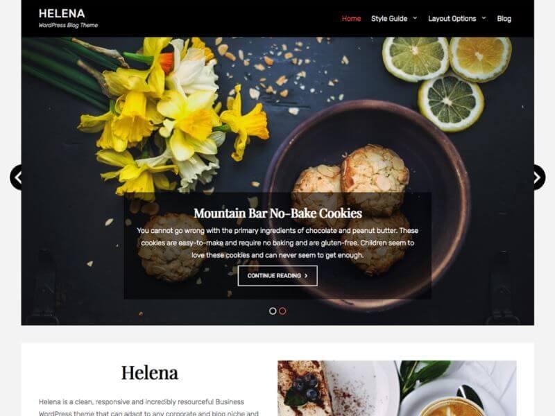Helena - Les plus beaux thèmes gratuits parus en Janvier 2017