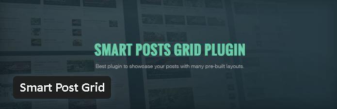 Smart Post Grid - Les meilleurs plugin gratuits parus en Janvier 2017