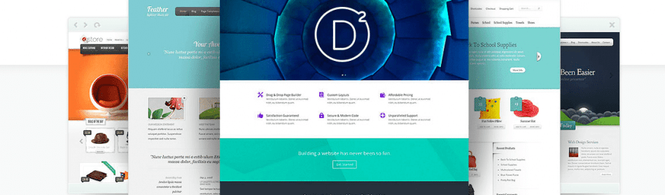 Divi - L'ultime Thème WordPress d'Elegant Themes - Visual Page Builder - Rapide & Facile